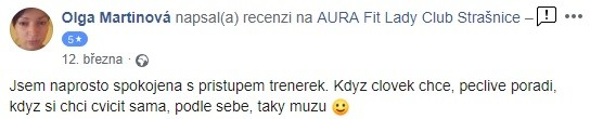 aura reference str Olga Martinová